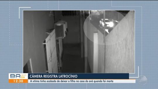Vídeo flagra assassinato de homem durante assalto na Bahia; vítima entregou chave de carro e não reagiu