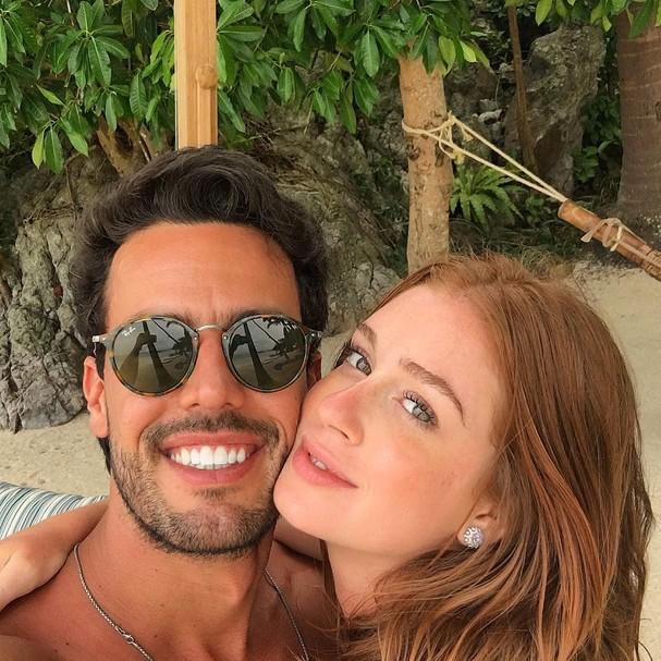 Marina Ruy Barbosa e Xande Negrão (Foto: Instagram/Reprodução)