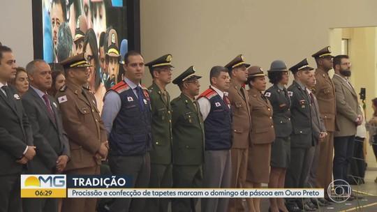 Cerimônia de entrega da Medalha da Inconfidência é realizada em Ouro Preto