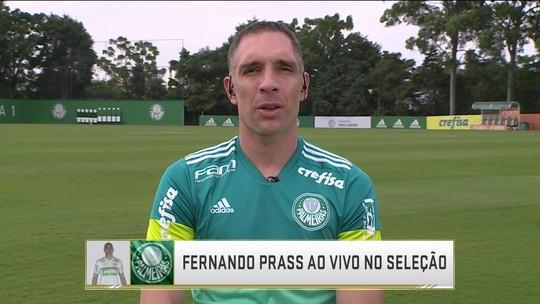 """Prass pede trégua após vaias ao Palmeiras: """"A gente precisa muito da torcida"""""""