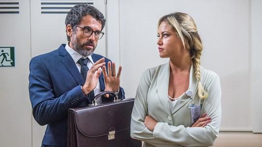 Ellen Rocche e Eriberto Leão comentam rumos da trama de Suzy e Samuel em 'O Outro Lado do Paraíso'