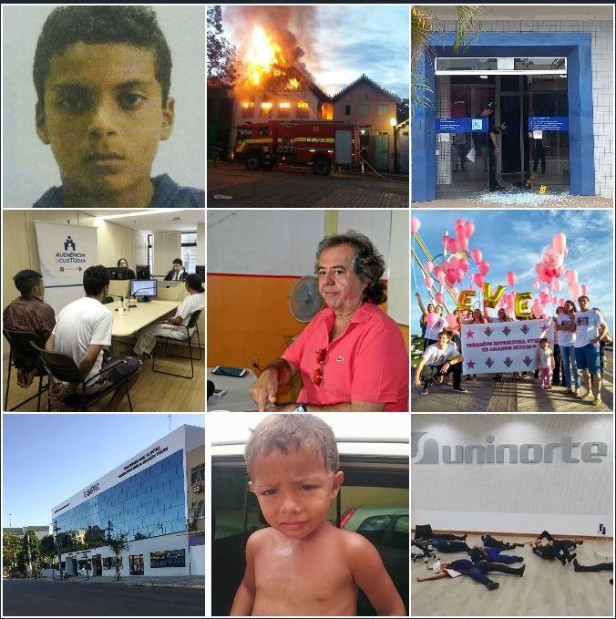 Você viu? Incêndio na Gameleira, explosivos em banco, menino com hematomas que busca ajuda e mais