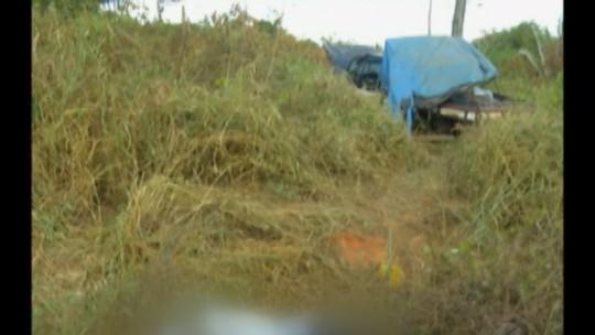 Motorista de caminhonete morre após perder o controle e carro sair da pista na PA-160