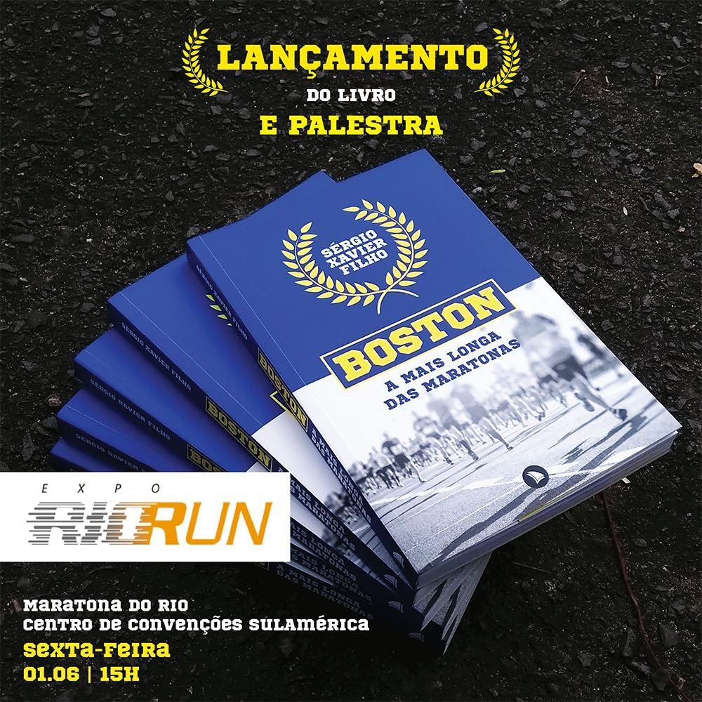 Maratona do Rio terá lançamento de livro