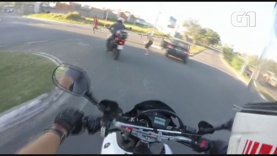 Vídeo mostra perseguição a carro roubado por ruas de Campinas