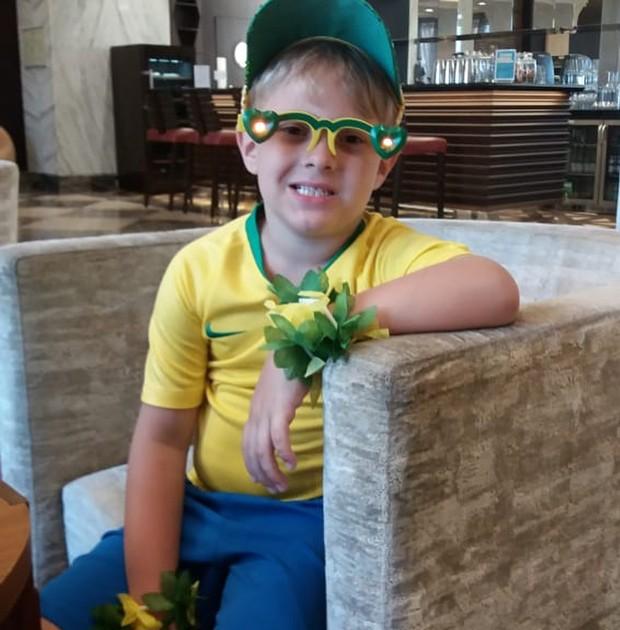 Davi Lucca, o filhinho de Neymar (Foto: Reprodução Instagram)
