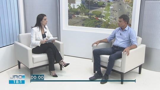 Expedito Junior, candidato do PSDB, é entrevistado no JRO 2