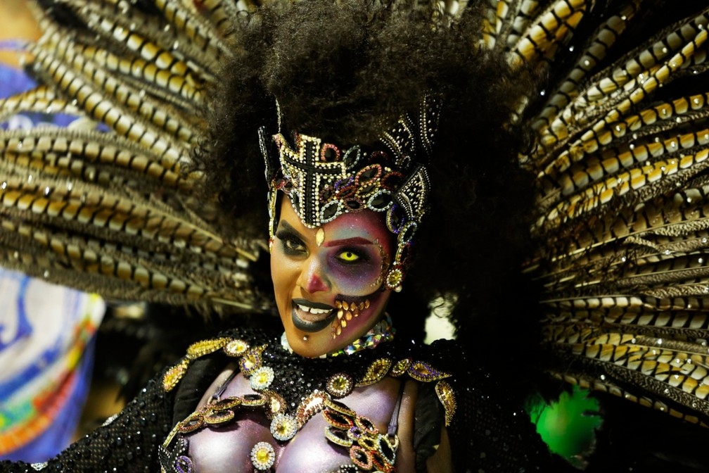 Dany Storino, rainha do Sossego — Foto: Marcos Serra Lima/G1