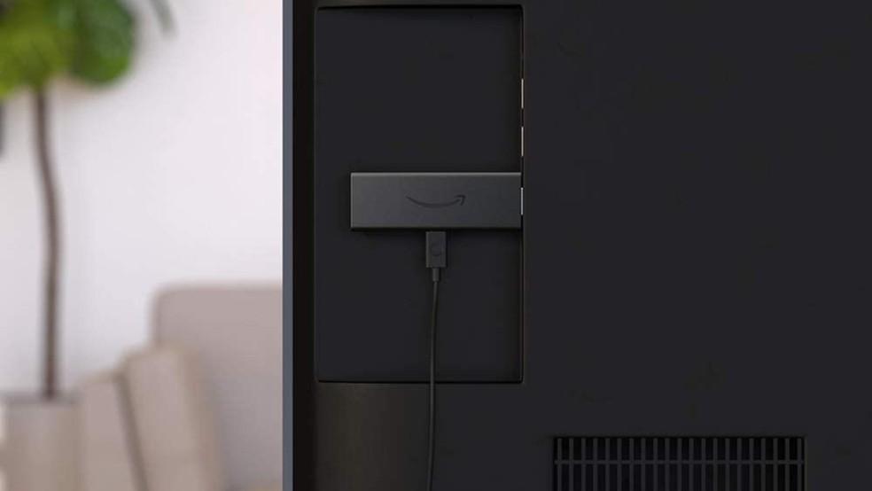 Fire TV Stick Lite da Amazon é opção para transformar a TV em smart — Foto: Divulgação/Amazon