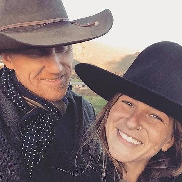 Kevin McKidd e Arielle Goldrath (Foto: Reprodução Instagram)