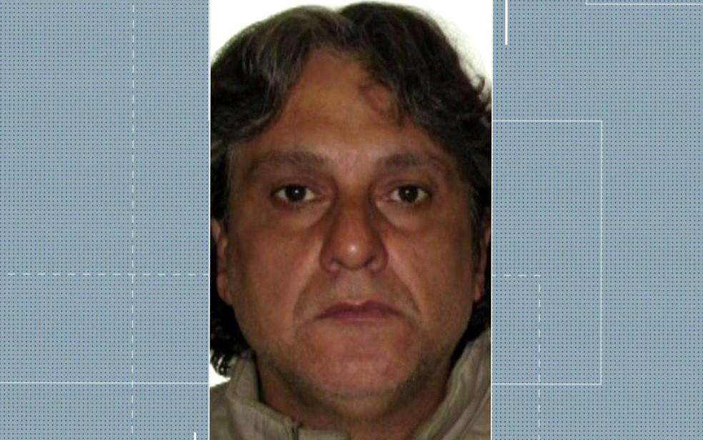 Paulo Cupertino Matias é procurado pela polícia suspeito de matar ator Rafael Miguel, o pai e a mãe dele — Foto: TV Globo/Reprodução