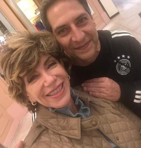 Silvia Poppovic e Luís Ernesto Lacombe (Foto: Arquivo pessoal)