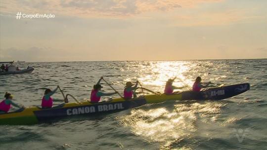 Pela primeira vez equipe feminina realiza Desafio Ka Ora, em Santos