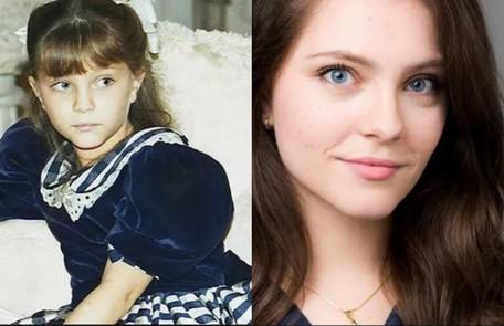 Cecília Dassi, que atualmente é psicóloga, chamou a atenção do público em 'Por amor' (1997). Ela era Sandrinha e vivia um drama familiar por causa do pai alcoólatra TV Globo / Divulgação