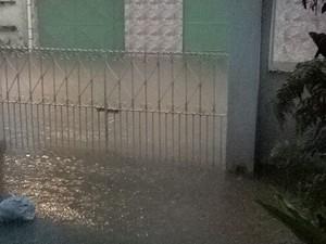 Chuva segunda-feira 30 de maio (Foto: Reprodução/Whatsapp)