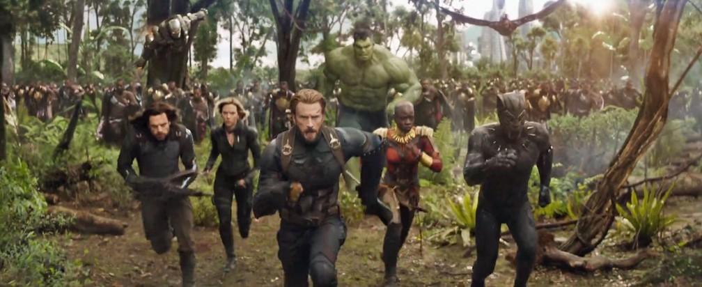 Cena de 'Vingadores: Guerra infinita' (Foto: Reprodução/Youtube/Marvel Entertainment)
