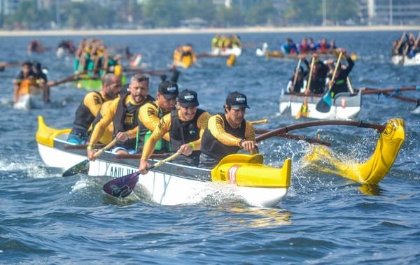 Campeonato Estadual de Canoa Polinésia reúne os melhores atletas do Estado em Cabo Frio | serra lagos norte | ge