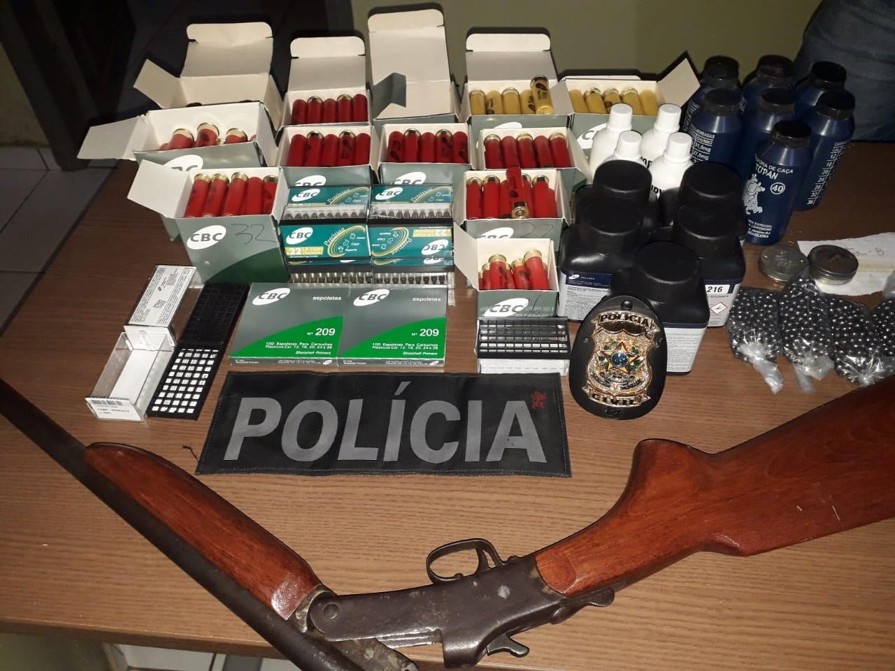 Comerciante é preso por venda ilegal de munições em Capixaba, no interior do Acre