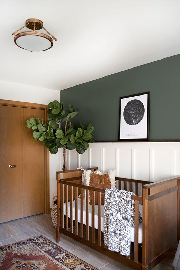 Resultado de imagem para quarto de criança verde militar na decoração casa vogue