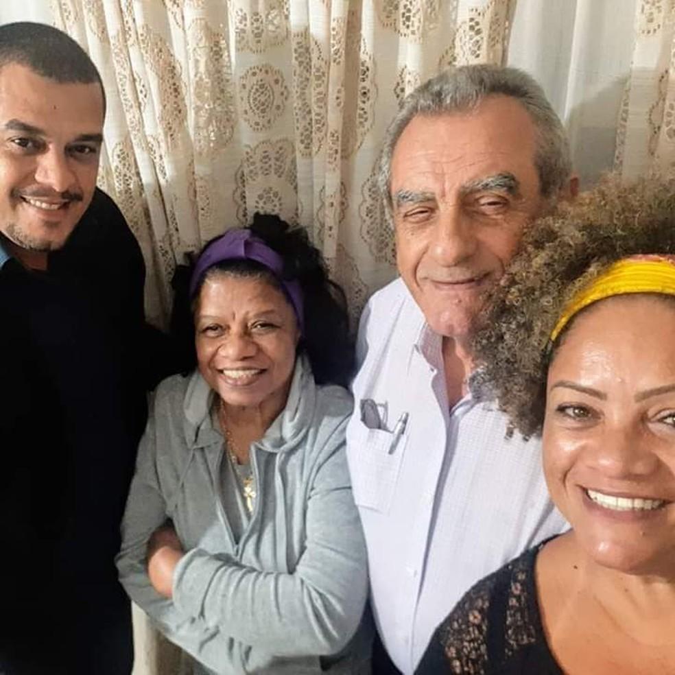 Primeiro caso de Covid-19 em Ourinhos, senhor de 76 anos recebe alta sob aplausos — Foto: Arquivo Pessoal/Pedro Bianchi