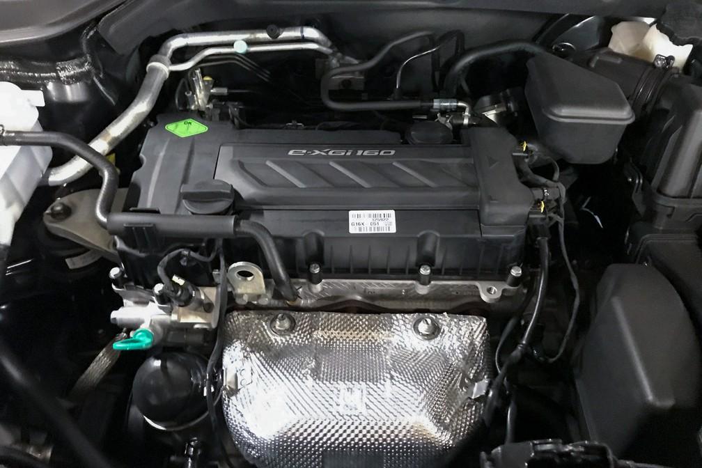 Motor 1.6 do Tivoli entrega 128 cv — Foto: André Paixão/G1