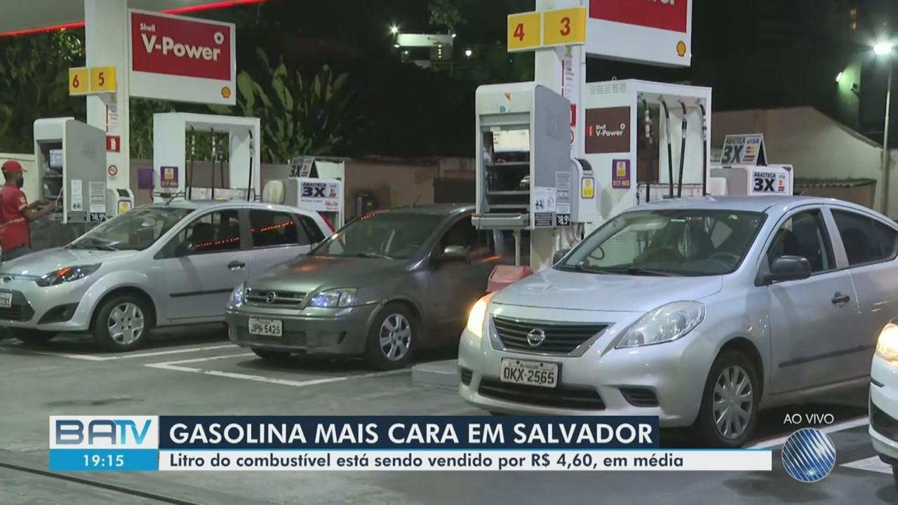 Preço da gasolina sofre aumento em Salvador; reajuste é de quase 15%