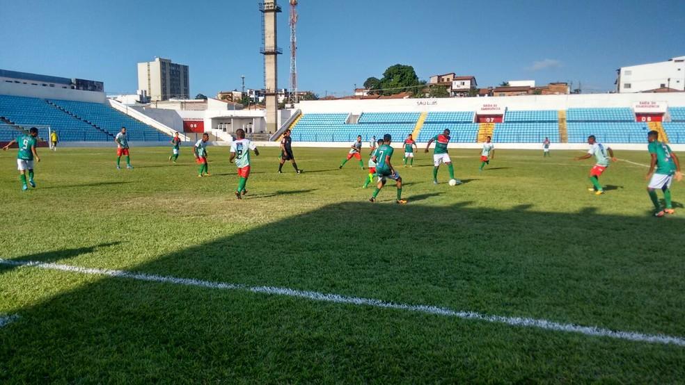 Bacabal perde para o Timon pelo Campeonato Maranhense série B.