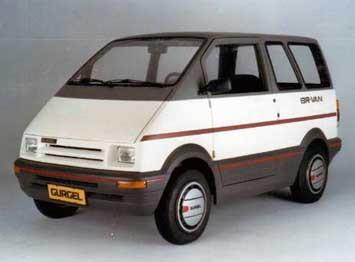 Minivan Gurgel BR-800