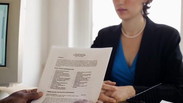 Currículo CV Experiência Profissional Entrevista (Foto: ThinkStock)