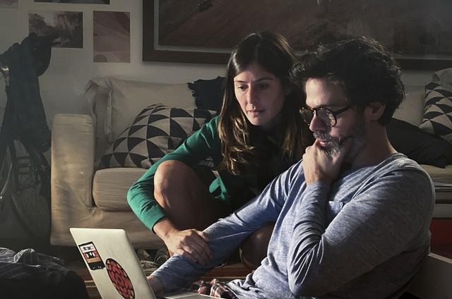 Bruno Mazzeo e Joana Jabace (Foto: Globo)