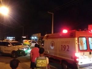 Bandido morre e outro fica ferido após fazer 5 pessoas reféns em assalto em Parnaíba (Foto: Divulgação/ Polícia Militar)