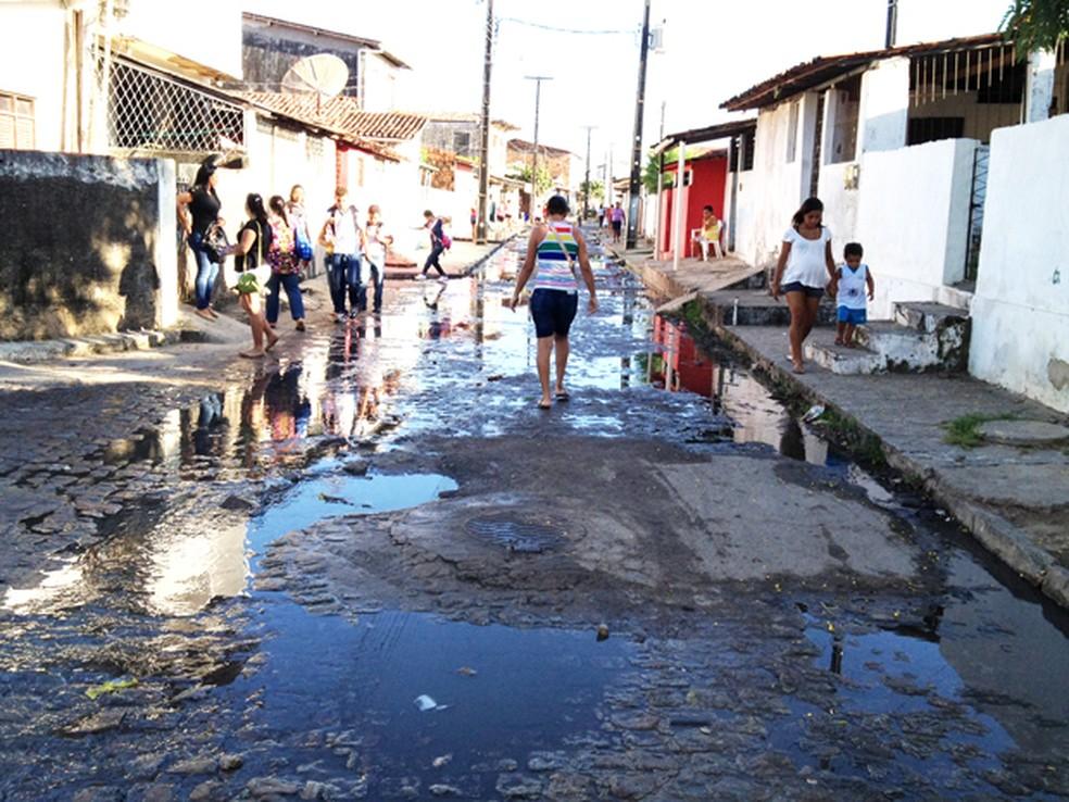 Nenhuma emenda parlamentar foi destinada para saneamento básico por senadores da PB em 2019 — Foto: Walter Paparazzo/G1/Arquivo