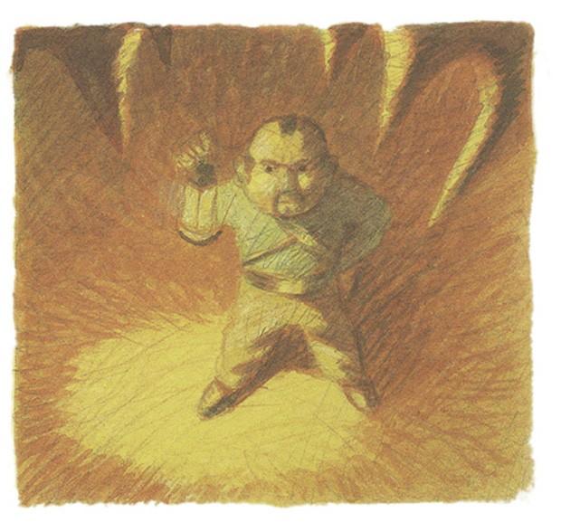 Meu Pai, o Grande Pirata, texto de Davide Calì e ilustrações de Maurizio A.C. Quarello, Pequena Zahar, R$ 49,90. A partir de 4 anos. (Foto: Reprodução)