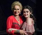 Andréa Beltrão e Valentina Herszage interpretam Hebe | Divulgação/TV Globo