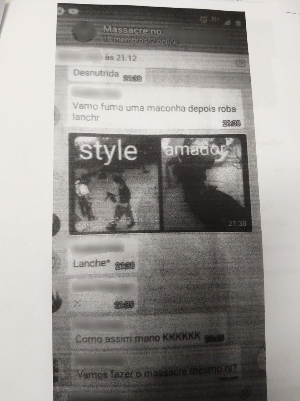 Documento foi anexado ao boletim de ocorrência. — Foto: Polícia Civil