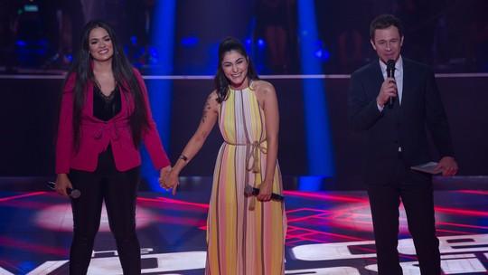 Bia Ferraz e Yolanda de Paulo cantam e agitam o 'The Voice Brasil'