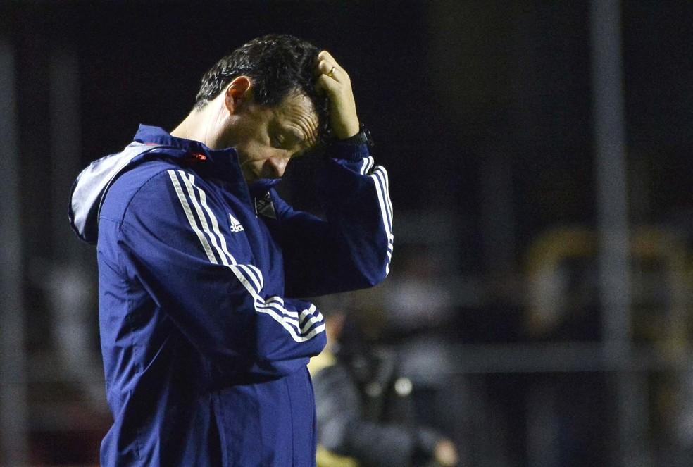 Fernando Diniz, técnico do São Paulo — Foto: Marcos Ribolli