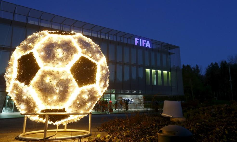 Fifa sede Zurique — Foto: Reuters