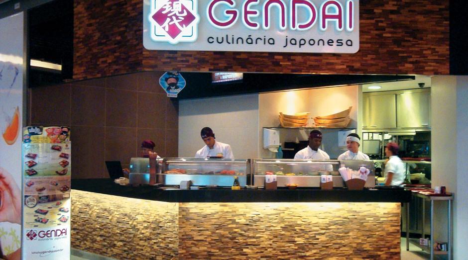 Unidade da rede Gendai Japanese Fast Food (Foto: Divulgação)