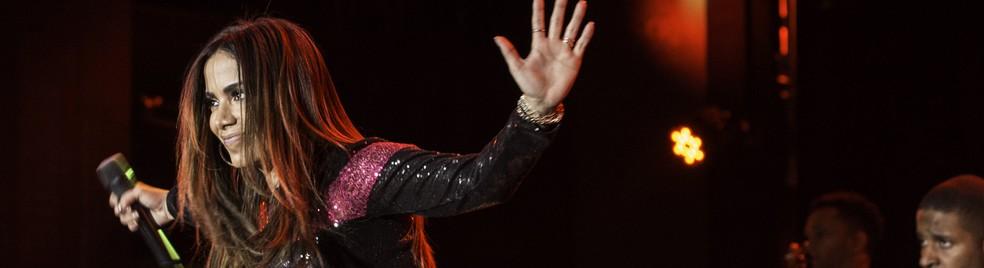 Anitta é uma das atrações do Réveillon Axé Moi — Foto: Ricardo Nasi/G1