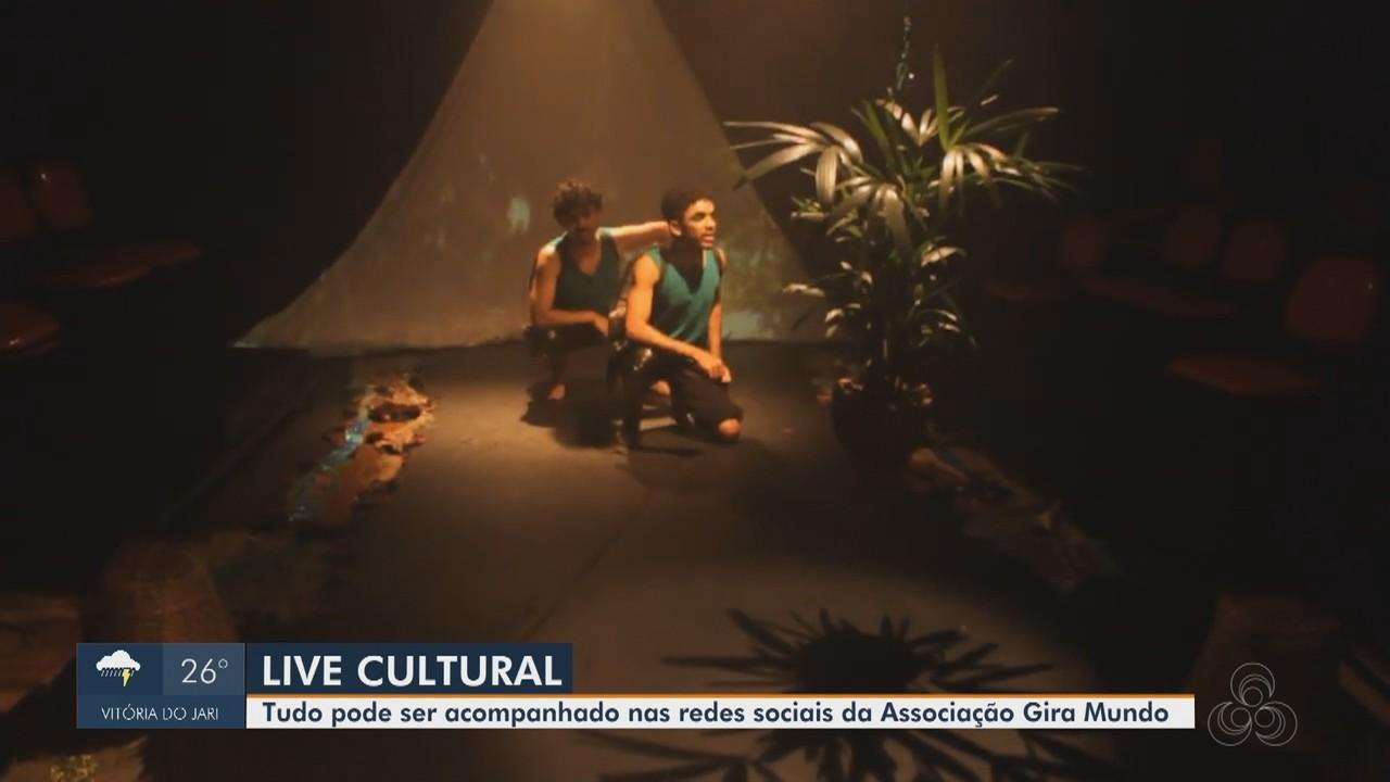 Associação 'Gira Mundo' promove Live Cultural em suas redes sociais