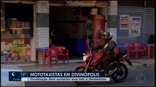 Apenas 72 das 114 vagas oferecidas para mototaxistas estão preenchidas em Divinópolis