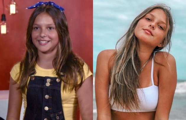 Laura Schadeck participou do programa aos 12 anos e se classificou para a semifinal. Ela chegou a fazer parte do BFF Girls com Ana Beatriz, mas deixou o grupo em janeiro deste ano (Foto: Reprodução)