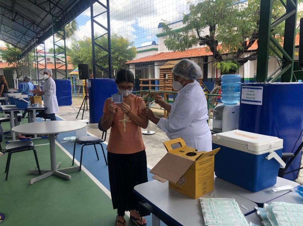 Vacinação em Sobral será incentivada por sorteio de motocicletas. — Foto: Maristela Gláucia