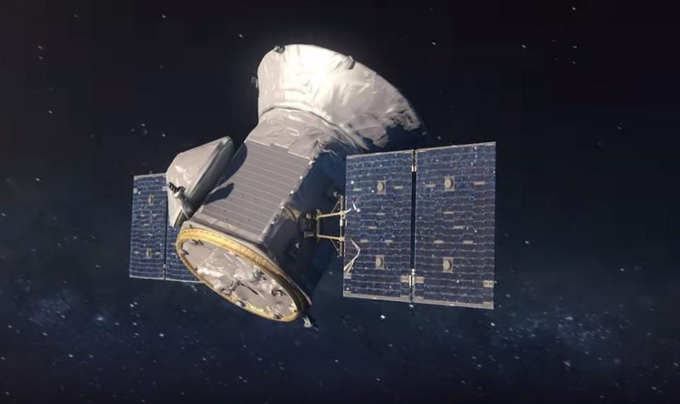 Satélite TESS (Transiting Exoplanet Survey Satellite) foi responsável pela descoberta — Foto: Reprodução/Nasa