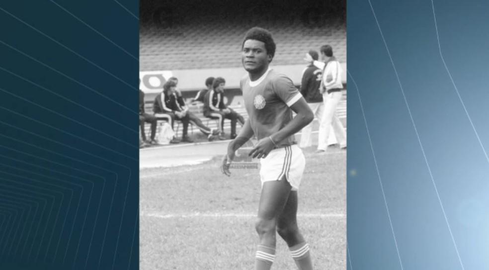 O ex-jogador de futebol Gilmar Justino Dias, conhecido como Mococa (Foto: Reprodução/EPTV)