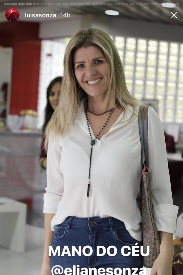 Eliane Sonza (Foto: reprocuao)