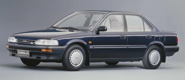 Toyota Corolla sexta geração - 1983