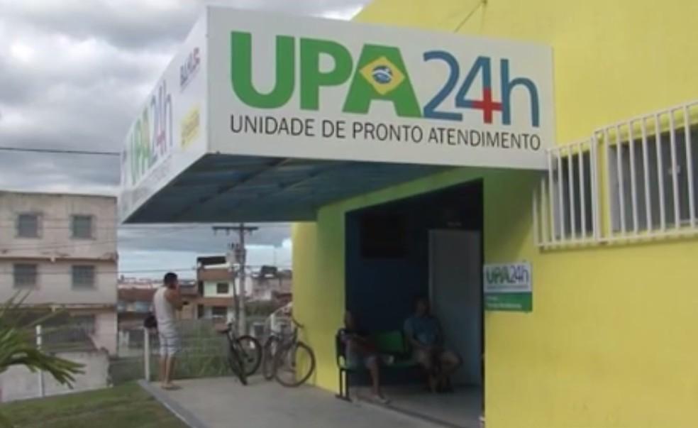 UPA foi fechada nesta quinta — Foto: Reprodução/TV Santa Cruz