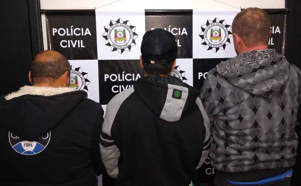 De acordo com a polícia, mais empresas foram vítimas no Rio Grande do Sul e a fraude pode ter chego a R$ 1 milhão, só no último mês. (Foto: Polícia Civil/Divulgação)